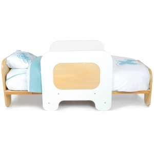 TODDLER BED WHT pic 3